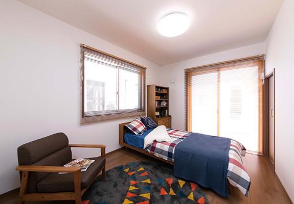ヒューバ アンド スタイル(HYVA AND STYLE)内観ベッドルーム写真