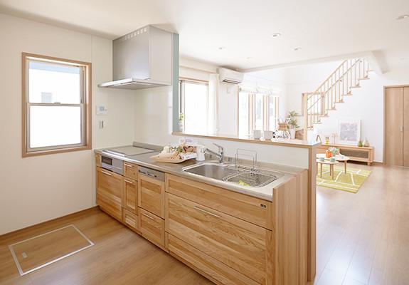 ノルディックハウス(NORDIC HOUSE)内観キッチン写真
