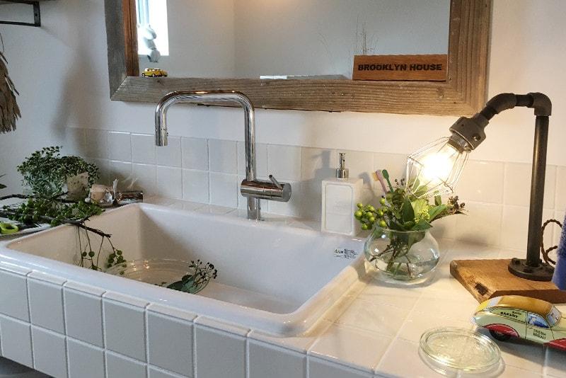 ほどよく自然体でカッコよく暮らす家、BROOKLYN HOUSE®(ブルックリンハウス)パウダールーム