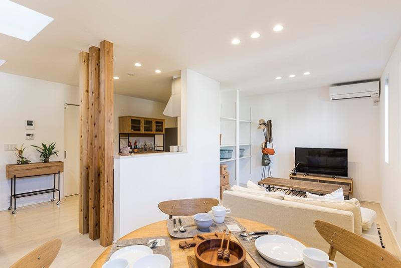戸建賃貸住宅casita(カシータ)リビング