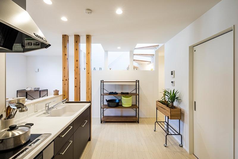 戸建賃貸住宅casita(カシータ)キッチン