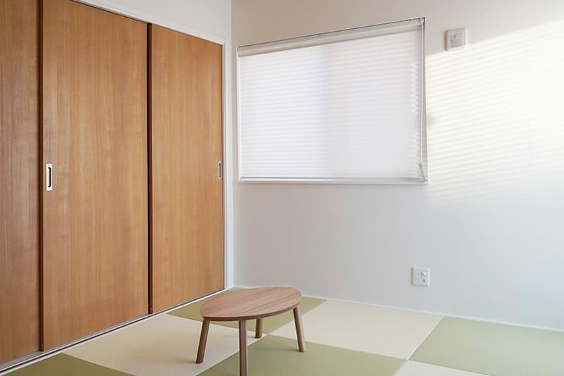 千葉県千葉市稲毛区黒砂モデルハウスZERO-CUBE+BOX SKYBALCONY和室