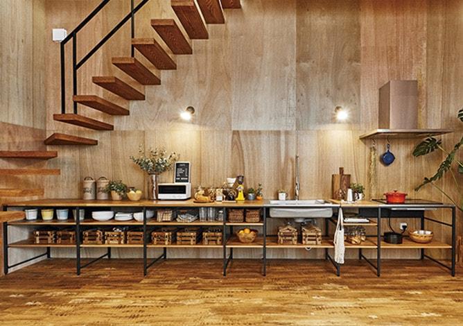 ベントハウス(BENTO HOUSE)内観 キッチン