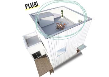 ZERO-CUBE+BOX SKY BALCONY(ゼロキューブプラスボックススカイバルコニー)