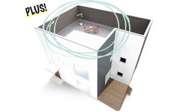 ZERO-CUBE+BOX2 SKY BALCONY(ゼロキューブプラスボック2ススカイバルコニー)
