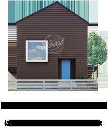 BROOKLYN HOUSE®(ブルックリンハウス)大阪SQUAREとデザインソースのコラボの家