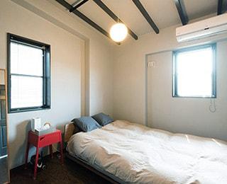 ZERO-CUBE WAREHOUSE(ゼロキューブ ウェアハウス)千葉県O様邸 ベッドルーム