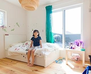 ZERO-CUBE +GARAGE(ゼロキューブ ガレージ)千葉県K様邸 子供部屋