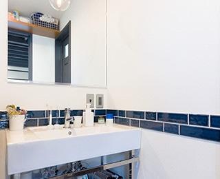 ゼロキューブウェアハウス 千葉県M様邸 洗面台