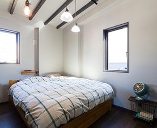 ゼロキューブウェアハウス 千葉県M様邸 寝室