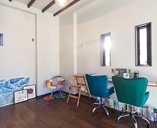 ゼロキューブウェアハウス 千葉県M様邸 2F趣味部屋