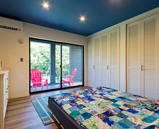 セカンドハウス 千葉県S様邸 ベッドルーム