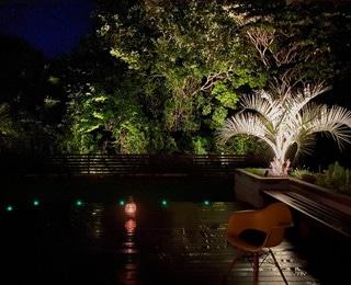 セカンドハウス 千葉県S様邸 庭ライトアップ