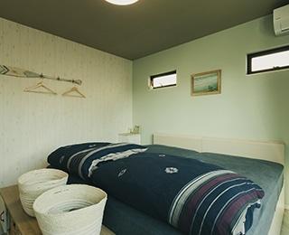 ゼロキューブ +ガレージ 神奈川県K様邸 ベッドルーム