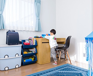 ZERO-CUBE (ゼロキューブ)千葉県S様邸 子供部屋