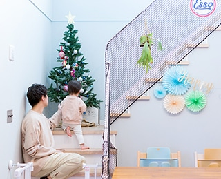ZERO-CUBE (ゼロキューブ)千葉県S様邸 階段防止ネット