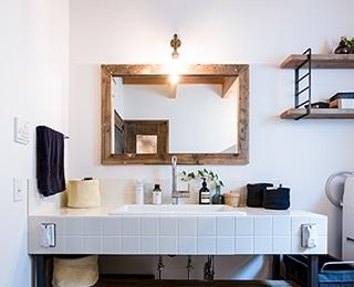 BROOKLYN HOUSE(ブルックリンハウス)千葉県K様邸 洗面台