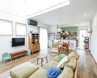 NORDIC HOUSE (ノルディックハウス)千葉県K様邸 リビングダイニング