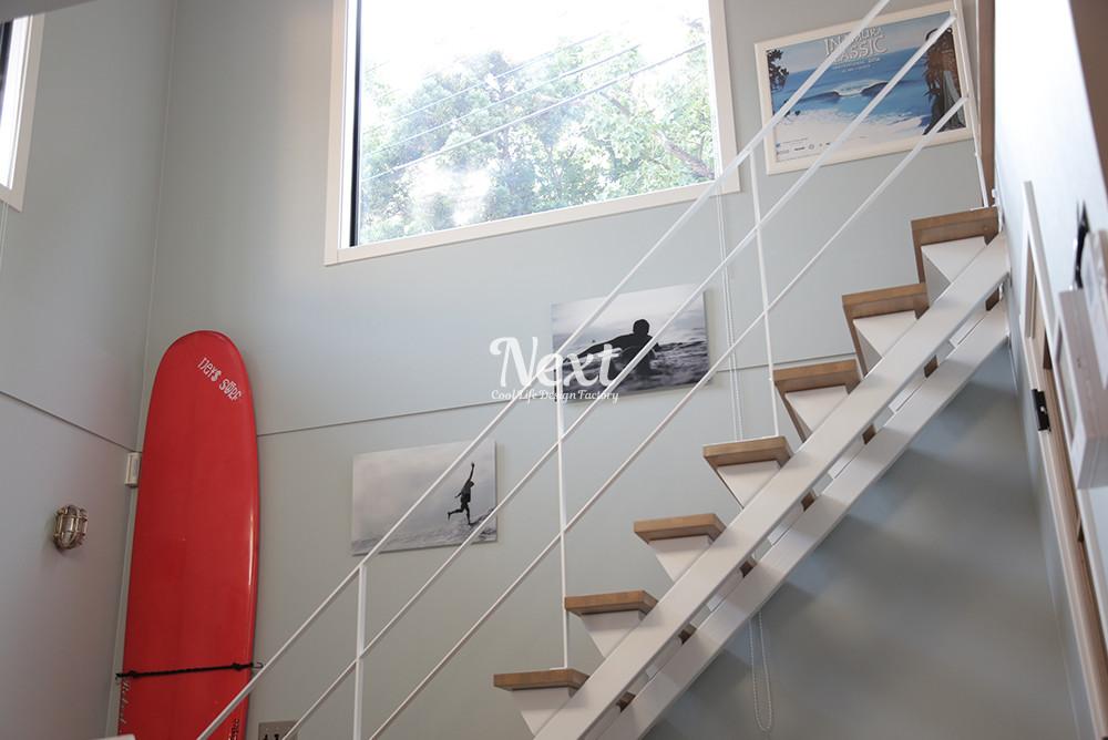 千葉県LIFE LABEL ゼロキューブ マリブ 階段写真